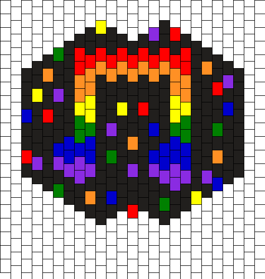 Rainbow Music Note