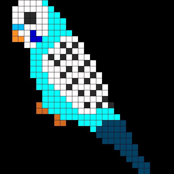 Blue Male Parakeet