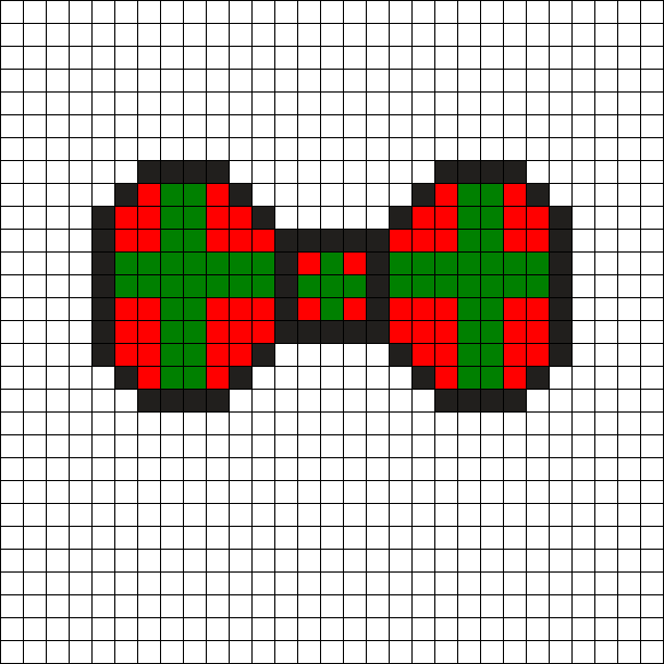 Red_and_Green_Present_Bow