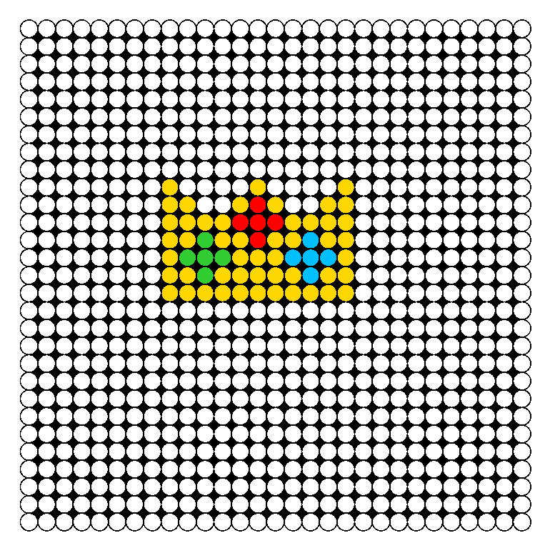 Small_Crown_Perler_Bead