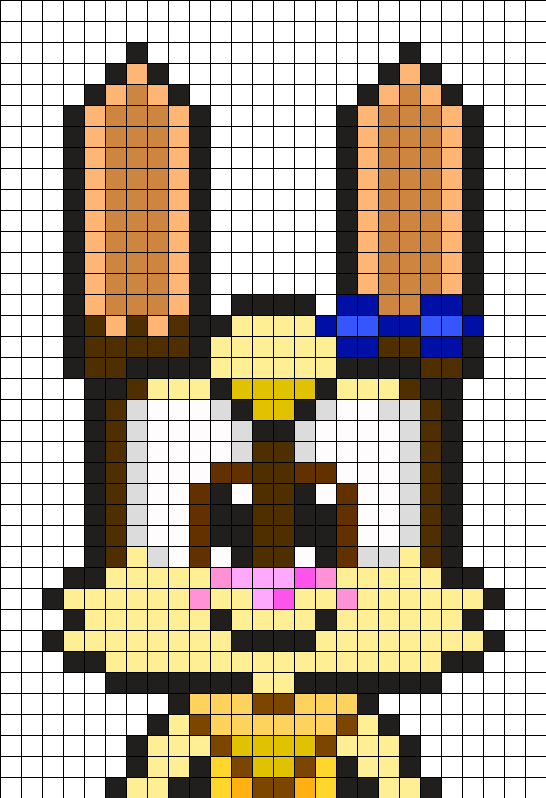 Cibi Victoria The Bunny Head Perler