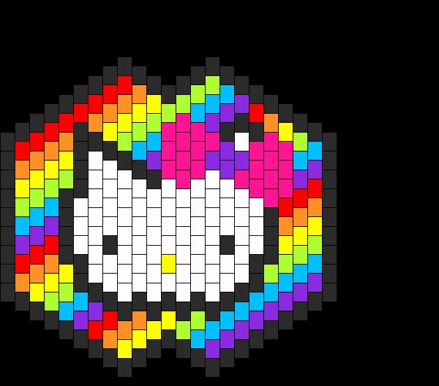 hello kitty mask template - kandi patterns view user