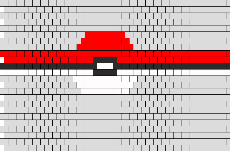 Pokeball_peyote_cuff
