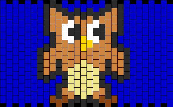 Owl Kandi Pattern