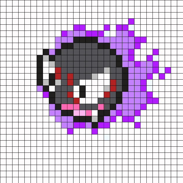 Gastly_Pokemon_Bead_Pattern