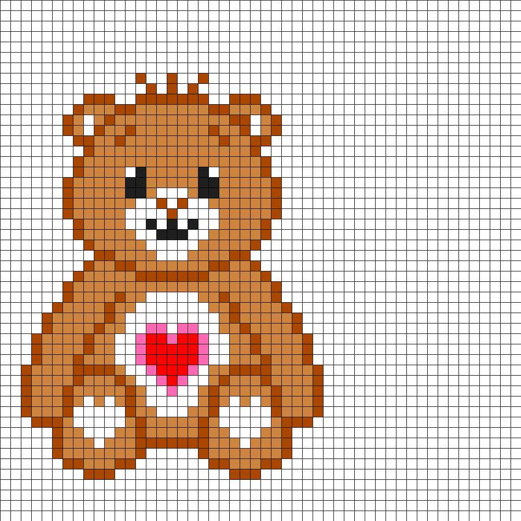Care Bear Tenderheart Bear