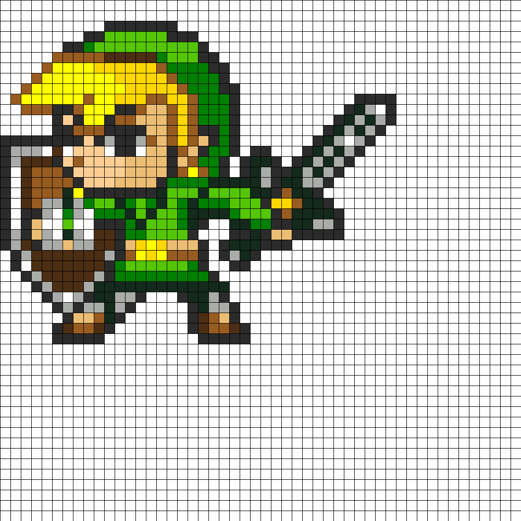 16 Bit Link By ToshiroFrog