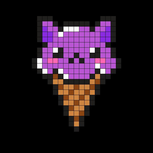 Cat Ice Cream Cone