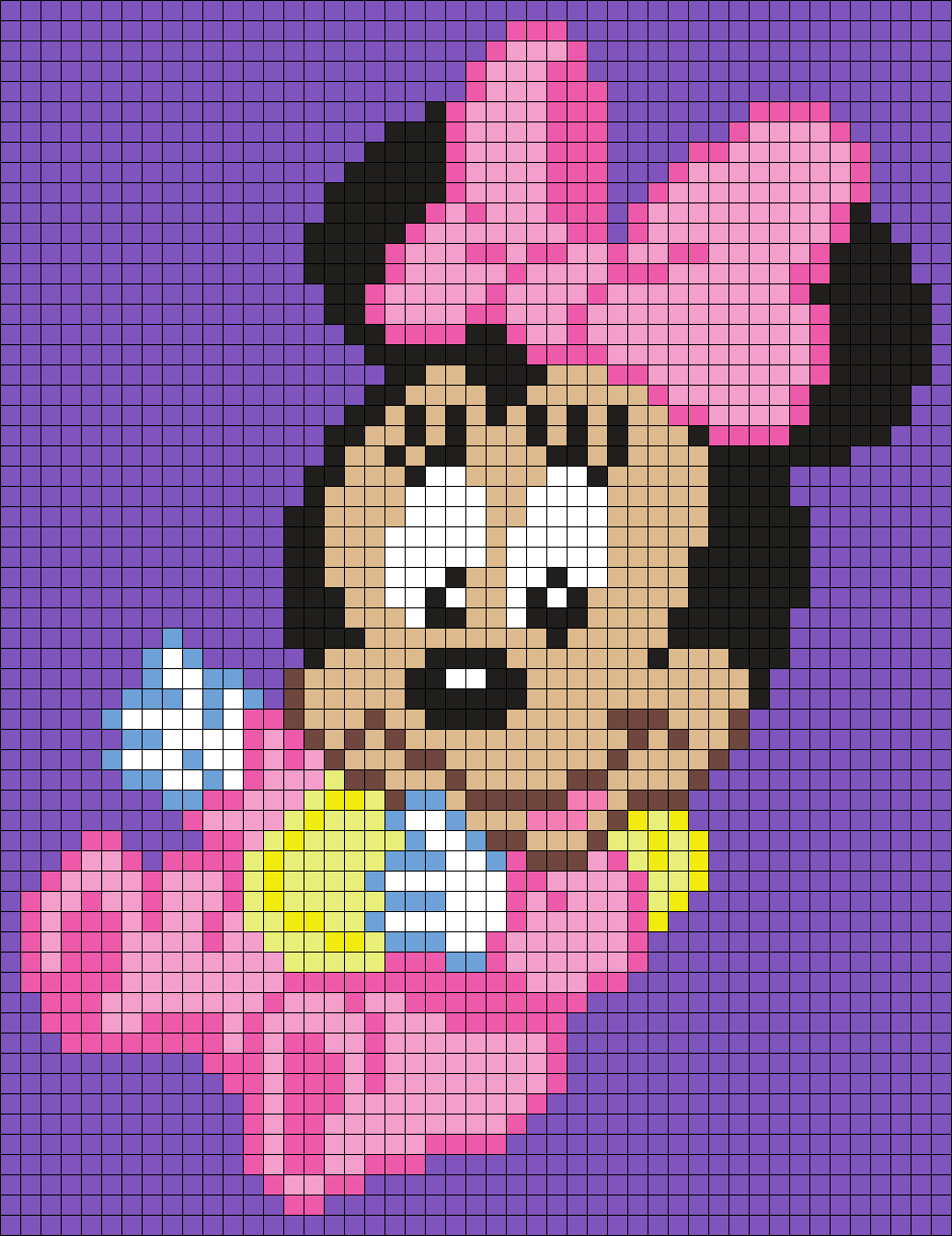 Baby Minnie Mouse (Square)