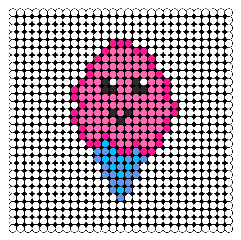 cute_cotton_candy_perler_bead