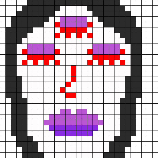 Perler_Three_eyed_women