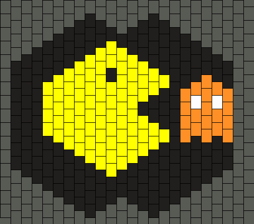 Pacman And Clyde Mask