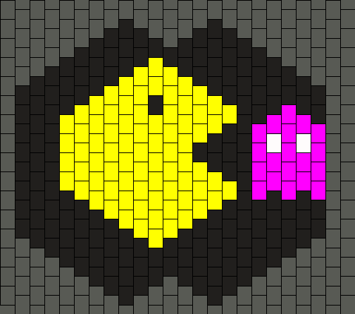 Pacman And Pinkie Mask