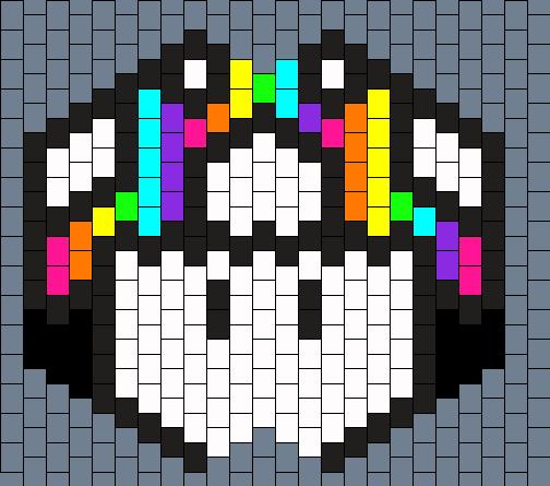 Rainbow Mushroom Mask