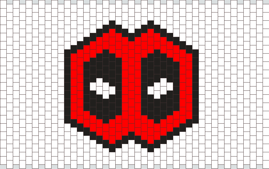 Deadpool Kandi Mask