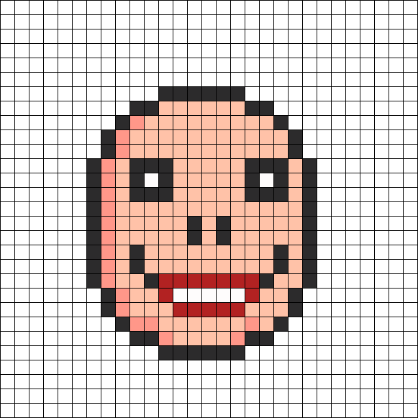 Lisa_joy_mask_perler